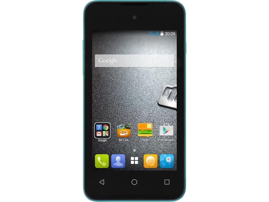Школьный комплект: смартфон Micromax BOLT D303 Green + бонус 3000 на счет