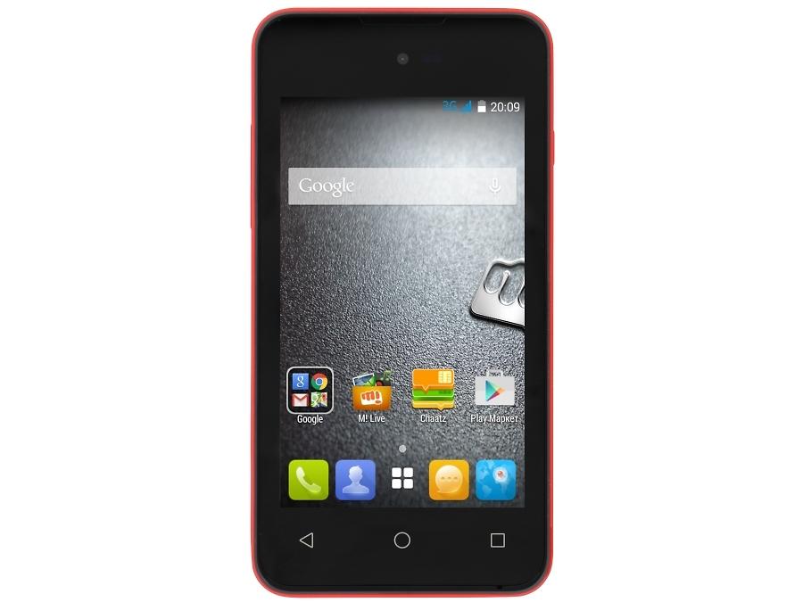Школьный комплект: смартфон Micromax BOLT D303 Red + бонус 3000 на счет