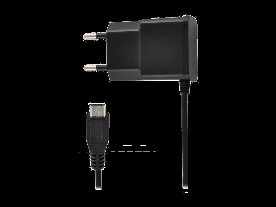 Зарядное устройство сетевое Oxion 1A (microUSB)