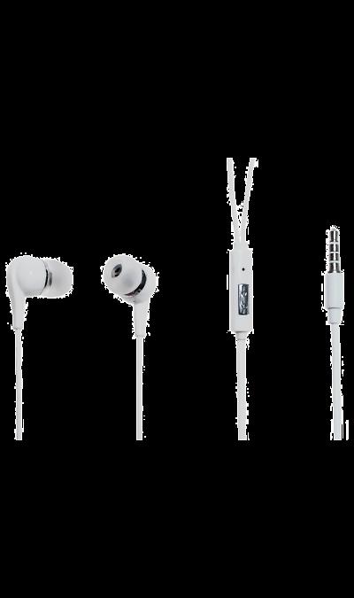 Проводная гарнитура Oxion HS201 White, стереоНаушники и гарнитуры<br>Наушники с микрофоном OXION HS201 (Затычки, 18-20kHz, 32 Ом, шнур 1,2м). Проводная стереогарнитура OXION с вставными наушниками. Обладает кнопкой ответа на проводе. Легкая и комфортная в применении. Инновационный дизайн и превосходное звучание.<br><br>Colour: Белый