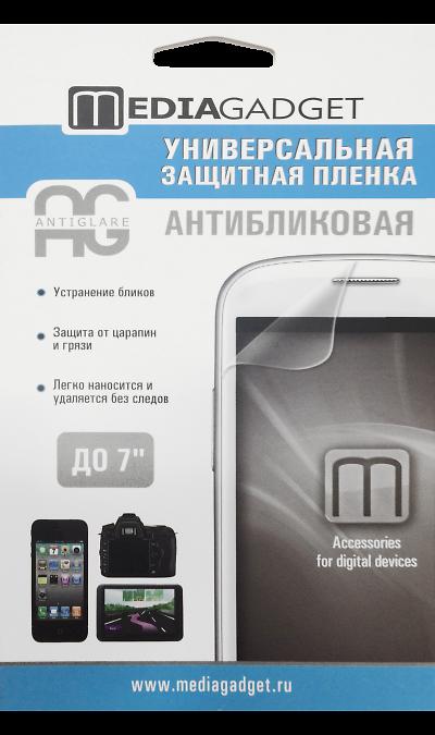 Media Gadget Защитная пленка Media Gadget универсальная 7 (антибликовая) аксессуар защитная пленка универсальная media gadget premium 5 глянцевая mg264