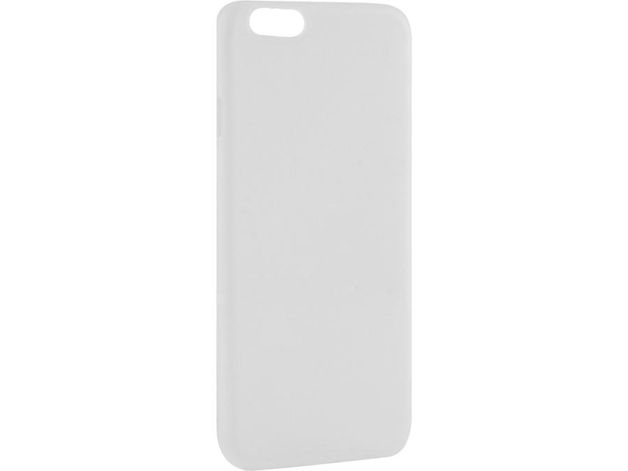 Чехол-крышка ZAKKA для Apple iPhone 6, силикон, белый