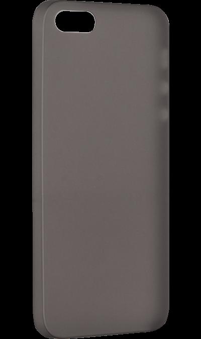 ZAKKA Чехол-крышка ZAKKA для Apple iPhone 5/5s, силикон, черный стоимость