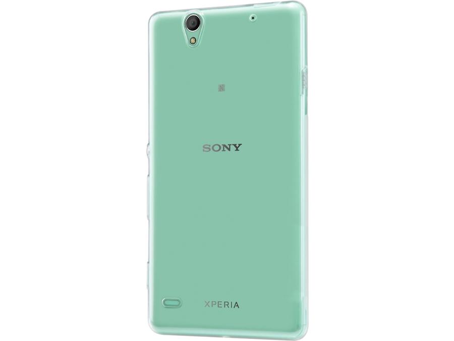 Чехол-крышка ZAKKA для Sony Xperia C4, силикон, прозрачный