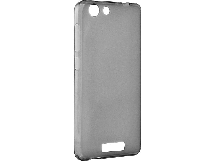 Чехол-крышка Highscreen для Power Rage, силикон, серый (оригинальный)