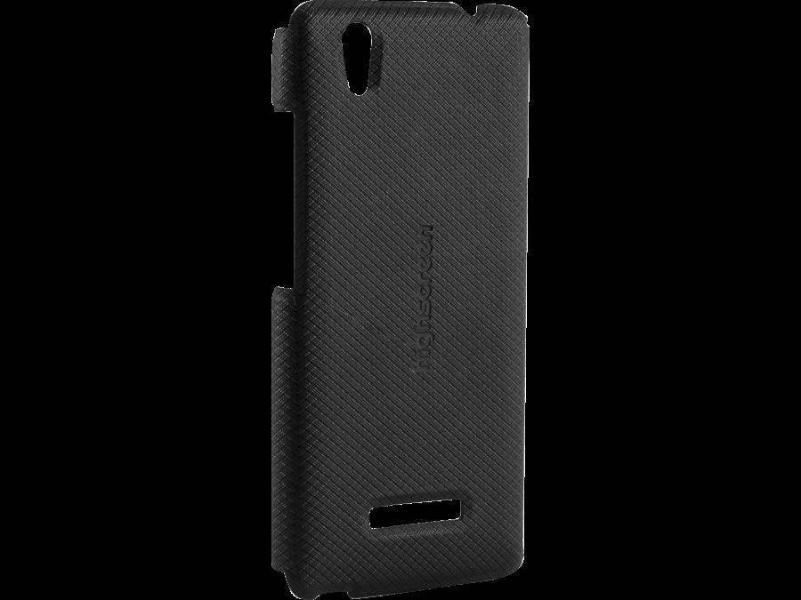 Чехол-крышка Highscreen для Prime L , пластик, черный (оригинальный)