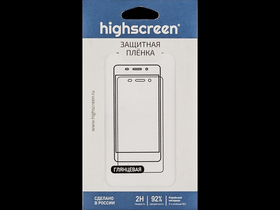 Защитная пленка Highscreen для Prime L, глянцевая (оригинальная)