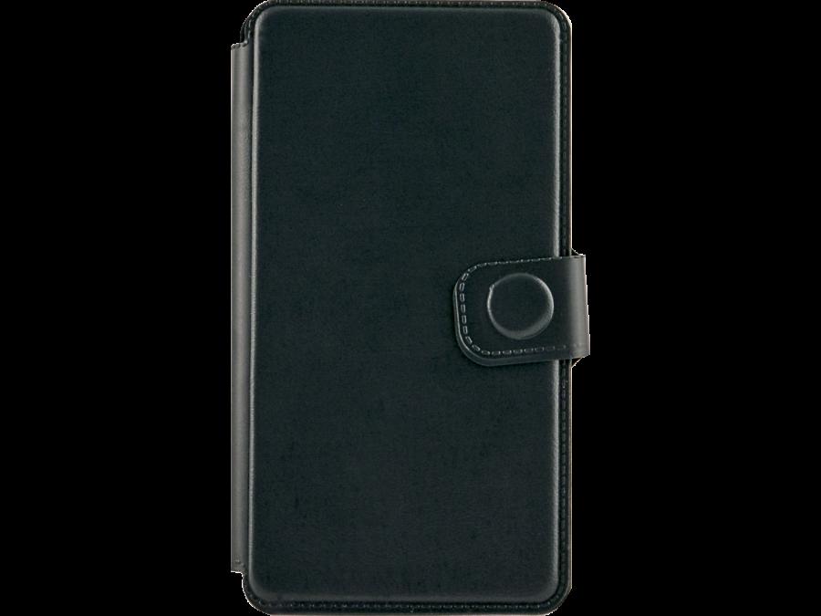Чехол-книжка FashionTouch для Micromax D303, пластик, зеленый