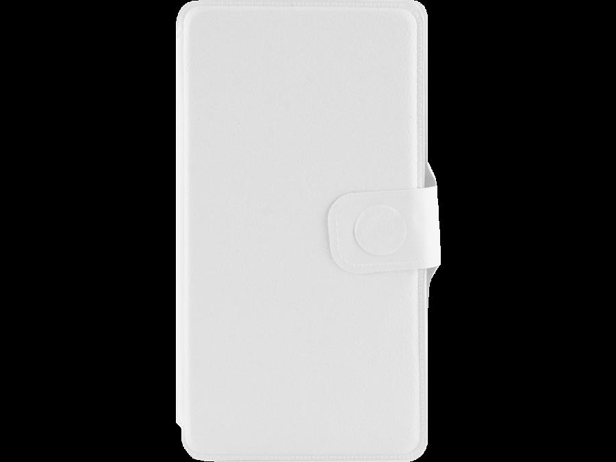 Чехол-книжка FashionTouch для ZTE Blade A5, пластик, белый