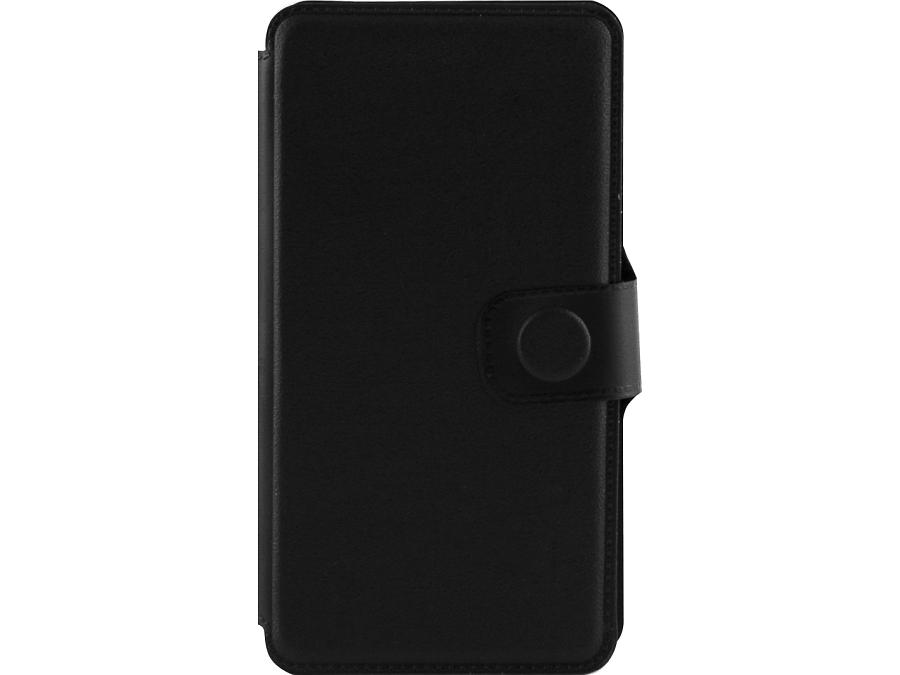 Чехол-книжка FashionTouch для ZTE Blade A5, пластик, черный