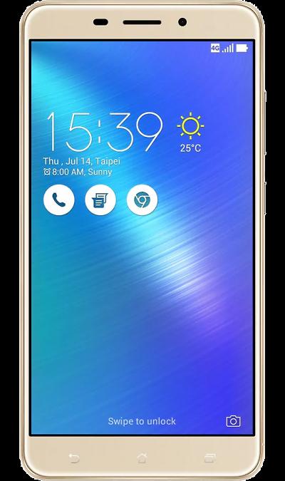 ASUS ZenFone 3 Laser ZC551KL 32GbСмартфоны<br>2G, 3G, 4G, Wi-Fi; ОС Android; Камера 13 Mpix, AF; Разъем для карт памяти; MP3, FM,  BEIDOU / GPS / ГЛОНАСС; Вес 150 г.<br><br>Colour: Золотистый