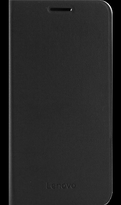 Чехол-книжка Lenovo для Lenovo A2020, кожзам / пластик, черный