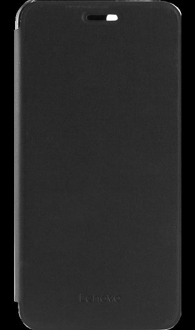 Чехол-книжка Lenovo для Lenovo A6020, кожзам / пластик, черныйЧехлы и сумочки<br>Чехол-книжка Lenovo Flip Cover выполнен из высококачественных материалов специально для Lenovo A6020. Он прекрасно защитит ваш смартфон от ударов, царапин и трещин, при этом оставляя в открытом доступе все необходимые разъемы и камеру.<br><br>Colour: Черный