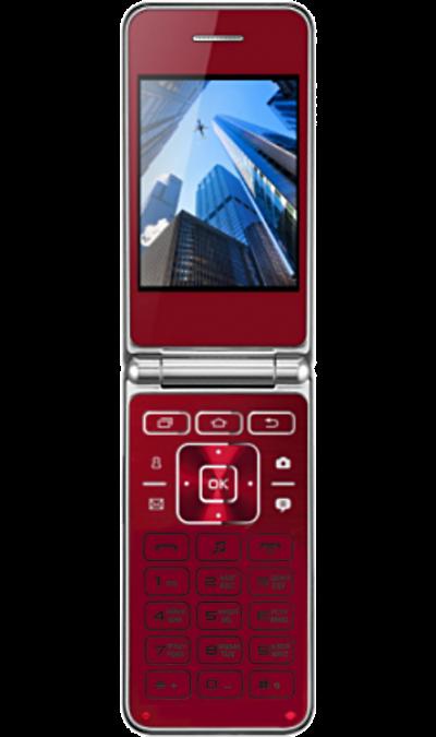 Vertex S104 RedТелефоны<br>2G; Дисплей 65,5 тыс цв. 2.8; Камера 0.3 Mpix; Разъем для карт памяти; MP3, FM; Вес 107 г.<br><br>Colour: Красный