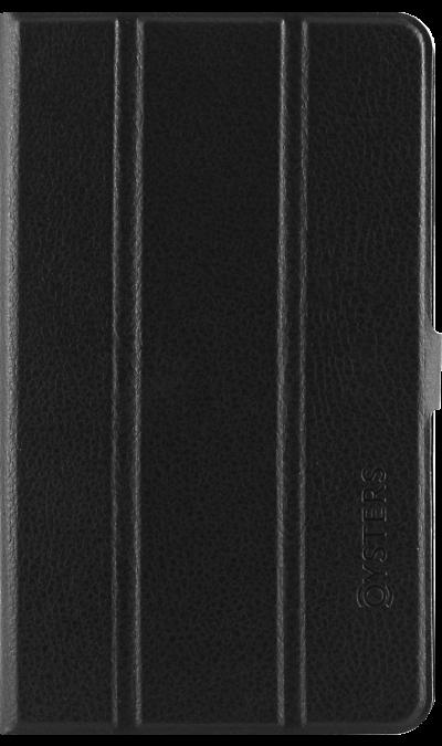 Oysters Чехол-книжка Oysters для  T72HMs и T74HMi, кожзам, черный (оригинальный) hot sale new 2014 women winter fashion md long thick slim big fur collar hooded plus size belt cotton padded casual jacket lj434