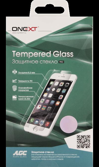 Защитное стекло One-XT для Apple iPhone 7/8Защитные стекла и пленки<br>Качественное защитное стекло прекрасно защищает дисплей от царапин и других следов механического воздействия. Оно не содержит клеевого слоя и крепится на дисплей благодаря эффекту электростатического притяжения.<br>