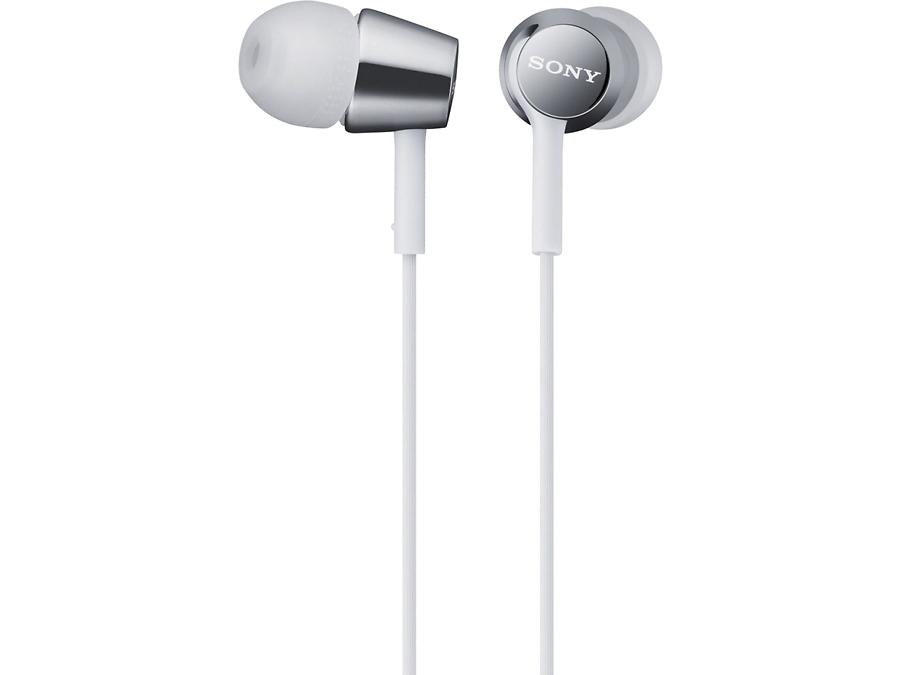Наушники Sony MDREX150, стерео (белые)