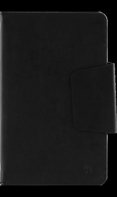 Чехол-книжка VIVACASE универсальный 7, кожзам, черныйЧехлы и сумочки<br>Удобный чехол для устройств с диагональю 7 поможет не только защитить ваш смартфон от повреждений, но и сделает обращение с ним более удобным, а сам аппарат будет выглядеть еще более элегантным. Крепление PVS позволяет надежно зафиксировать устройство.<br><br>Colour: Черный