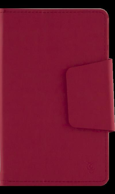 VIVACASE Чехол-книжка VIVACASE универсальный 7, кожзам, красный griffin чехол книжка griffin универсальный 2type 7 кожзам ткань черный