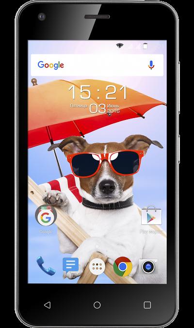Fly FS454 Nimbus 8Смартфоны<br>2G, 3G, Wi-Fi; ОС Android; Камера 5 Mpix; Разъем для карт памяти; MP3, FM,  GPS; Время работы 160 ч. / 7.0 ч.; Вес 130 г.<br><br>Colour: Черный