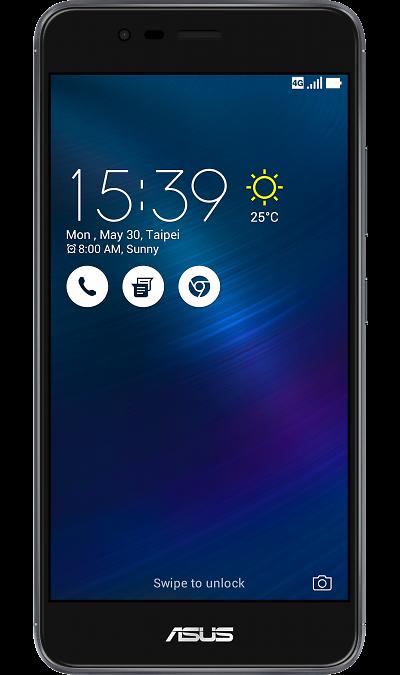 Смартфон ASUS ZenFone 3 Max ZC520TL 16GbСмартфоны<br>2G, 3G, 4G, Wi-Fi; ОС Android; Дисплей сенсорный 16,7 млн цв. 5.2; Камера 13 Mpix, AF; Разъем для карт памяти; FM,  GPS; Вес 160 г.<br><br>Colour: Серый
