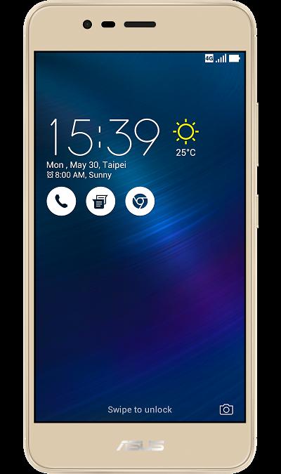 Смартфон ASUS ZenFone 3 Max ZC520TL 16GbСмартфоны<br>2G, 3G, 4G, Wi-Fi; ОС Android; Дисплей сенсорный 16,7 млн цв. 5.2; Камера 13 Mpix, AF; Разъем для карт памяти; FM,  GPS; Вес 160 г.<br><br>Colour: Золотистый