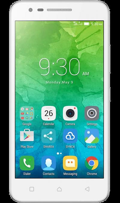Lenovo Vibe C2 PowerСмартфоны<br>2G, 3G, 4G, Wi-Fi; ОС Android; Дисплей сенсорный емкостный 16,7 млн цв. 5; Камера 8 Mpix, AF; Разъем для карт памяти; MP3, FM,  GPS; Вес 158 г.<br><br>Colour: Белый