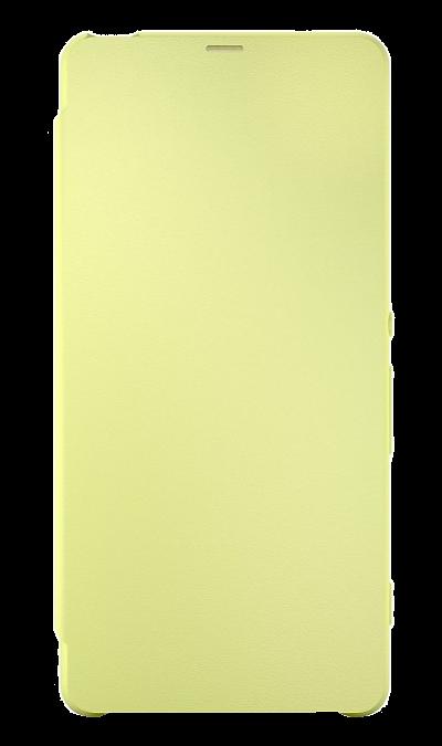Sony Чехол-книжка Sony для Xperia XA, кожзам / пластик, желтый (оригинальный) смартфон sony xperia xa1 ultra dual