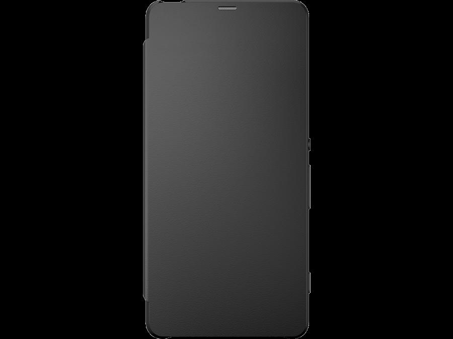 Sony Чехол-книжка Sony для Xperia XA, кожзам / пластик, черный (оригинальный)