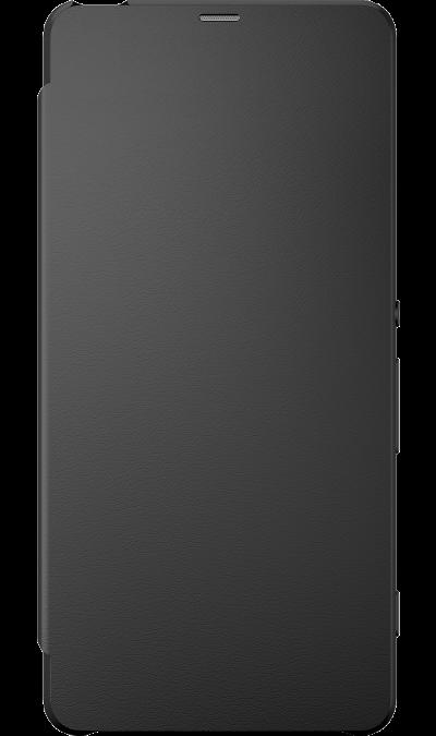 Sony Чехол-книжка Sony для Xperia XA, кожзам / пластик, черный (оригинальный) смартфон sony xperia xa1 ultra dual