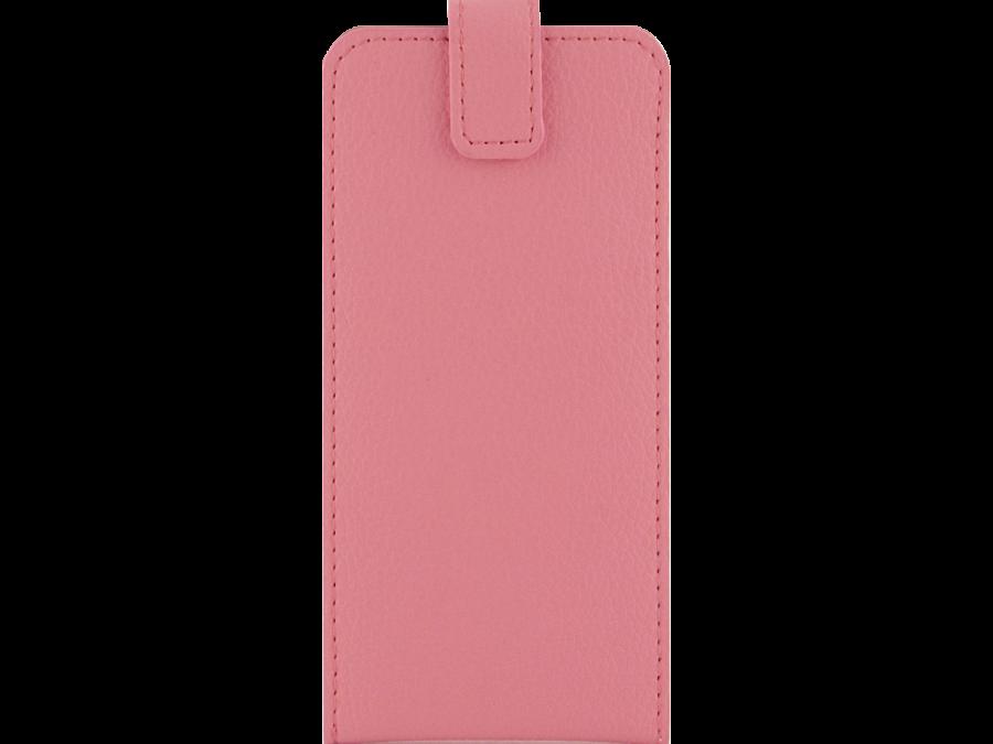 Чехол-книжка Lemon Tree универсальный 4.5-5.2'', кожзам, розовый