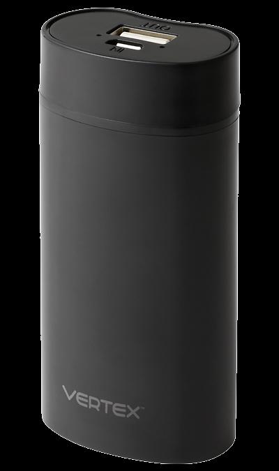 Vertex Аккумулятор Vertex Slim line, Li-Ion, 5000 мАч, черный (портативный) revocharge аккумулятор revocharge li ion 6700 мач черный портативный