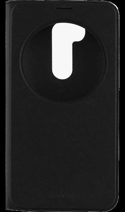 Чехол-книжка ASUS Flip Cover для ASUS ZenFon 2 ZB551KL View , кожзам / пластик, черныйЧехлы и сумочки<br>Чехол поможет не только защитить ваш ASUS ZenFon 2 ZB551KL View  от повреждений, но и сделает обращение с ним более удобным, а сам аппарат будет выглядеть еще более элегантным.<br><br>Colour: Черный