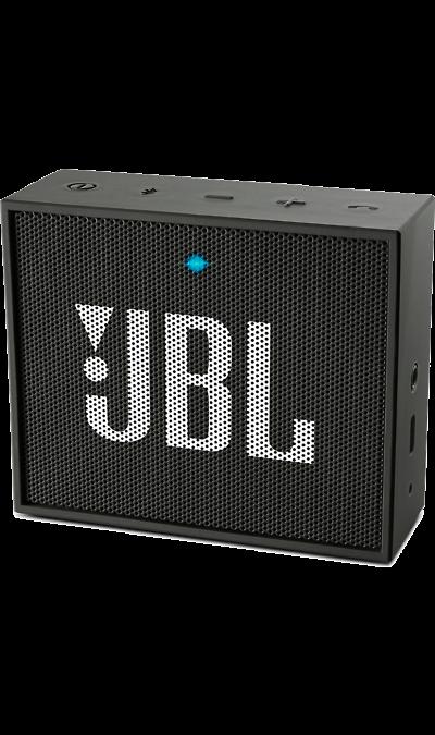 12301542Портативная акустика<br>Компактный размер. Мощное звучание.<br>JBL GO - везде должен быть только качественный звук! Этот динамик является удобным решением всё-в-одном. Он поддерживает Bluetooth, что позволяет подключать его к любым современным гаджетам, а встроенный аккумулятор подарит вам 5 часов музыки без перерыва. JBL GO также оснащен встроенным микрофоном с технологией шумоподавления, что позволяет вам общаться по телефону по громкой связи.<br><br>Доступный в 8 ярких расцветках, в прорезиненном корпусе и ...<br><br>Colour: Черный