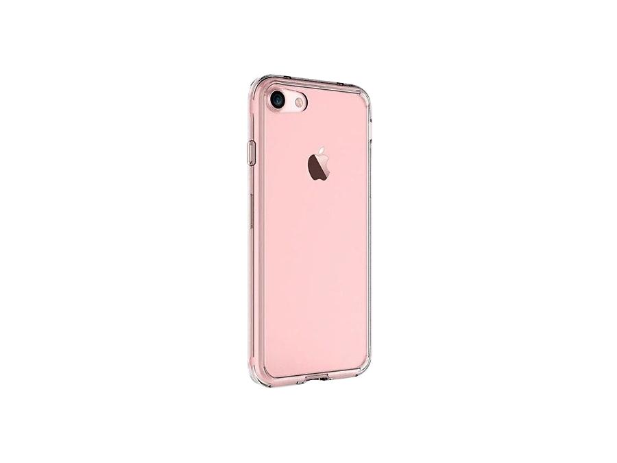 Чехол-крышка SERENITY для Apple iPhone 7, силикон, прозрачный