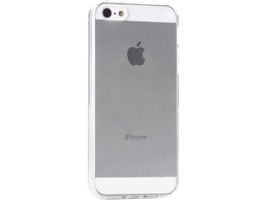 Чехол-крышка Liberty Project для iPhone 5/5S, пластик, прозрачный