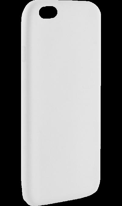 Krutoff Чехол-крышка Krutoff для Apple iPhone 6/6S, силикон, белый apple apple для apple iphone 6s задняя крышка силикон синий