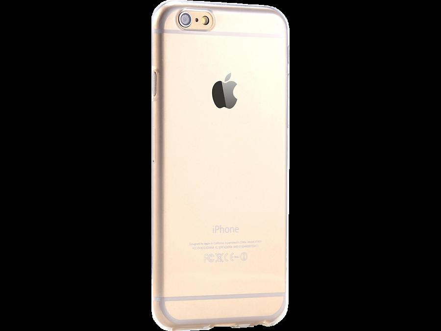 Krutoff Чехол-крышка Krutoff для Apple iPhone 6/6S, силикон, прозрачный аксессуар чехол аккумулятор krutoff x4 3800 mah для iphone 6 black 48186