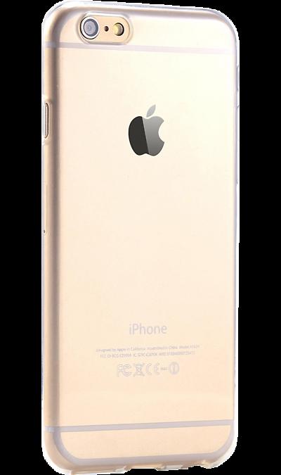 Чехол-крышка Krutoff для Apple iPhone 6/6S, силикон, прозрачныйЧехлы и сумочки<br>Чехол поможет не только защитить ваш iPhone 6/6S от повреждений, но и сделает обращение с ним более удобным, а сам аппарат будет выглядеть еще более оригинальным.<br>