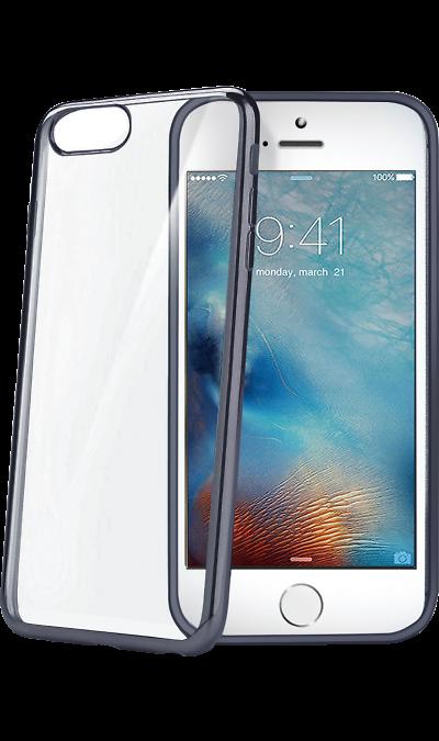 Чехол-крышка CELLY для Apple iPhone 7, силикон, серый (с окантовкой)Чехлы и сумочки<br>Чехол CELLY поможет не только защитить ваш Apple iPhone 7 от повреждений, но и сделает обращение с ним более удобным, а сам аппарат будет выглядеть еще более элегантным.<br><br>Colour: Серый