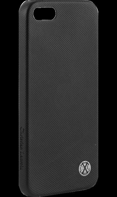 Christian Lacroix Чехол-крышка Christian Lacroix для Apple iPhone 5, 5S, SE, полиуретан, черный christian lacroix рубашки приталенные