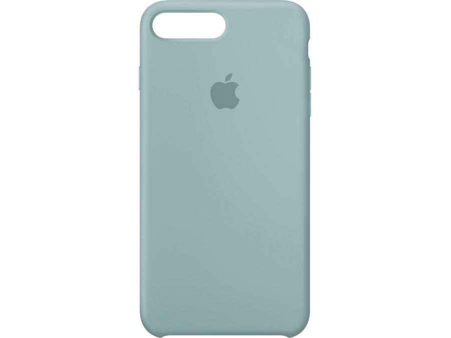 Apple Чехол-крышка Apple для Apple iPhone 7 Plus, силикон, голубой skinbox кейс книжка для asus zenfone laser 2 ze550kl