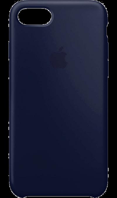 Чехол-крышка Apple для Apple iPhone 7/8, силикон, синийЧехлы и сумочки<br>Силиконовый чехол iPhone 7 плотно прилегает к кнопкам громкости и режима сна, точно повторяет контуры телефона, но при этом не делает его громоздким. Мягкая подкладка из микроволокна защищает корпус iPhone. А его внешняя силиконовая поверхность очень приятна на ощупь.<br><br>Colour: Синий