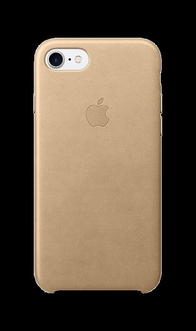 Apple Чехол-крышка Apple для Apple iPhone 7/8, кожа, бежевый apple чехол крышка apple mqha2zm для apple iphone 7 8 кожа красный