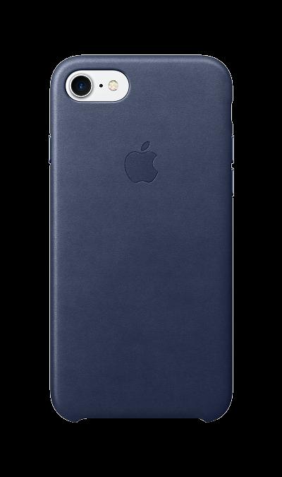 Чехол-крышка Apple для Apple iPhone 7/8, кожа, синийЧехлы и сумочки<br>Чехлы, созданные Apple, точно повторяют контуры iPhone, не делая его громоздким. Эти чехлы изготовлены из мягкой кожи европейского производства, которая со временем покрывается благородной патиной. Мягкая внутренняя поверхность, выполненная из микроволокна, защищает корпус вашего iPhone. А кнопки из обработанного алюминия идеально подходят по цвету к чехлу.<br><br>Colour: Синий