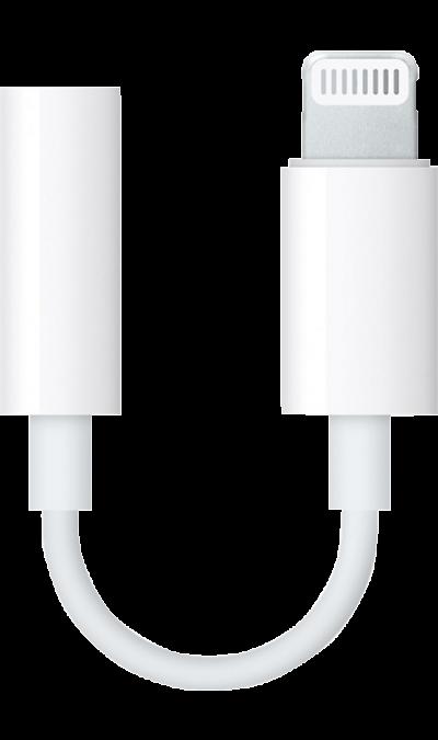 Apple Адаптер Apple Lightning to Headphone Jack MMX62ZM/A кабель prolink apple lightning м usb a м белый