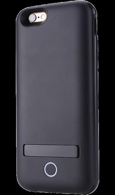 Чехол-аккумулятор ODOYO для Apple iPhone 6/6S, 3000mAh, пластик, черныйЧехлы и сумочки<br>Любому пользователю знакома ситуация: телефон разряжается в момент, когда он необходим. Теперь подобных неприятностей можно с легкостью избежать, зарядив смартфон от чехла. <br><br>Простой в использовании современный, стильный, технологичный аксессуар;<br>Встроенный Li-Pol (литий-полимерный) аккумулятор ёмкостью 3000 мАч;<br>Входное напряжение: 5В-1А;<br>Выходное напряжение: 5В-1А;<br>Размеры: 158 х 75 х 15,5 мм;<br>Встроенный LED индикатор.<br><br>Colour: Черный