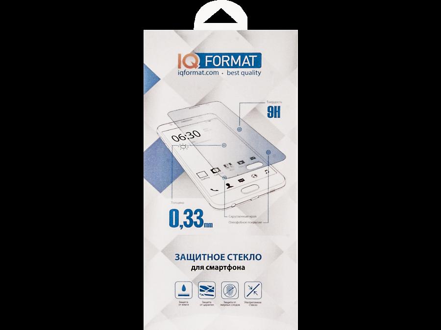 Защитное стекло IQ Format для Apple iPhone 7 (черное)