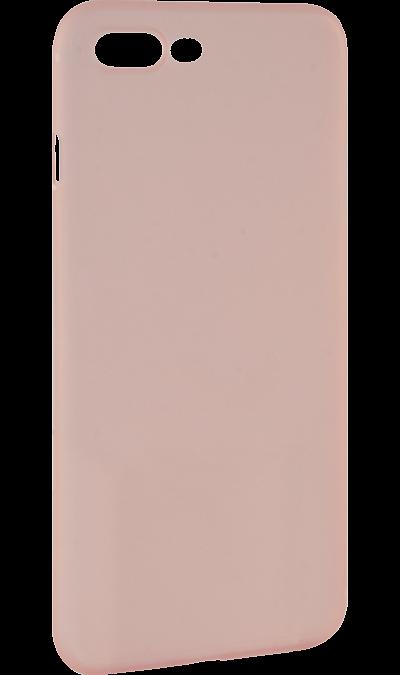 IQ Format Чехол-крышка IQ Format Slim для Apple iPhone 7 Plus/8 Plus, пластик, розовый