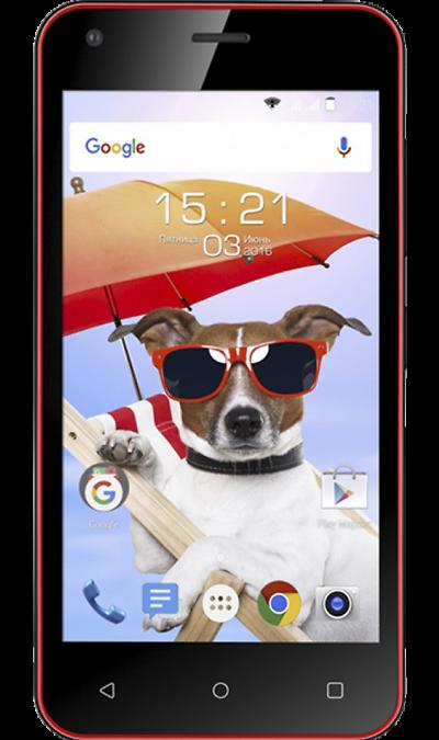 Fly FS454 Nimbus 8Смартфоны<br>2G, 3G, Wi-Fi; ОС Android; Камера 5 Mpix; Разъем для карт памяти; MP3, FM,  GPS; Время работы 160 ч. / 7.0 ч.; Вес 130 г.<br><br>Colour: Красный